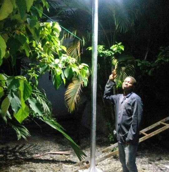 GREEN ENERGY SOLAR PROJECT LAMP PERA-BEAM LIMITED 4
